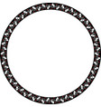 round frame with greek floral ornament ancient gr vector image vector image