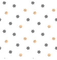seamless pattern background with black and gold vector image vector image
