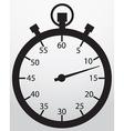 Stopwatch app icon vector image vector image