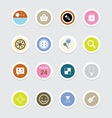 Web Icons 38 vector image vector image