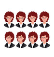 a set of emotions vector image vector image