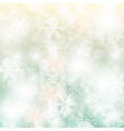 abstract christmas and new year background with vector image vector image