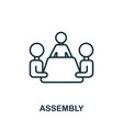 assembly icon from production management