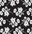 flower pattern for textile design vector image vector image