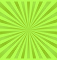 green ray background vintage abstract texture vector image vector image