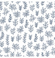 hand drawn pattern vector image vector image