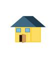 house facase exterior icon vector image