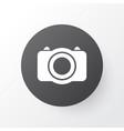 photo icon symbol premium quality isolated camera vector image