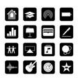 touchscreen smart phone mobile app button vector image vector image