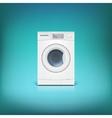 Washing machine isolated vector image