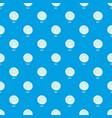 bun pattern seamless blue vector image