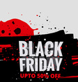 creative black friday sale vector image vector image