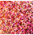 gradient abstract tiled triangle pattern vector image vector image
