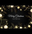 merry christmas happy christmas companions vector image vector image