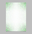 page template from green diagonal rounded square vector image vector image