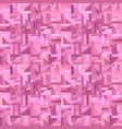 pink seamless abstract striped square mosaic vector image vector image