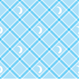 Seamless wallpaper Blue checkered background vector image vector image