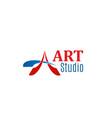 sign art studio vector image