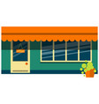store building icon flat isolated vector image
