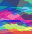 Abstract color geometric backgrounds Angular lines vector image