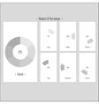 Moder UI flat design vector image