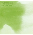 abstract green lime watercolor background for your vector image vector image