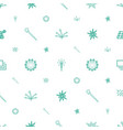 burst icons pattern seamless white background vector image vector image