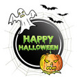 happy halloween symbol vector image