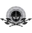 Vikings Helmet vector image