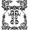 vintage ornamental framets vector image