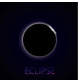 eclipse of the sun vector image