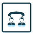 Icon of Telephone conversation vector image vector image