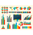 Infographic Elements Collec vector image vector image
