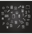 misc file and cursor computer technology icon vector image vector image