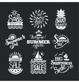 Summer sale badge vector image vector image