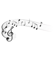 Symbols of music vector image vector image