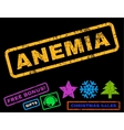 Anemia Rubber Stamp vector image vector image