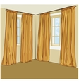 Blinds vector image