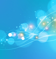 Bright Abstract Blue Background vector image vector image