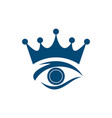 eye king abstract logo icon vector image vector image
