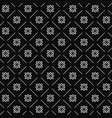Line flower geometric seamless pattern 1201 vector image
