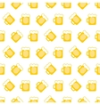 pint tankards background vector image vector image