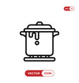 stew icon vector image