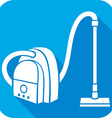 Vaccum Cleaner Icon vector image vector image