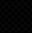white dash square diamond seamless on black vector image vector image