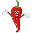 chili pepper cartoon vector image