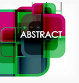 Abstract background square shapes geometric