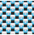 Geometric color blocked pattern vector image vector image