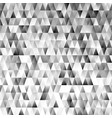geometric triangular polygon pattern background vector image vector image