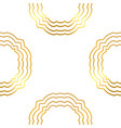 gold abstract seamless patterns vector image vector image